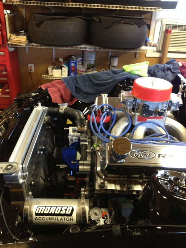 A460 trickflow intake water neck Mo5