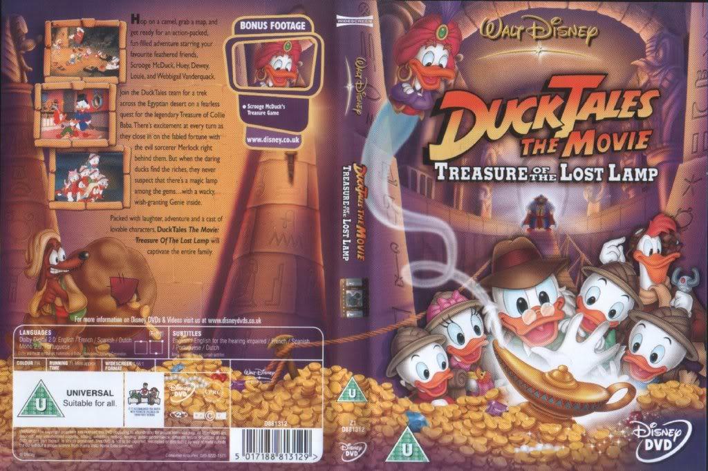 حمل الان DuckTales The Movie - البحث عن الكنز عم دهب Treasure of the Lost Lamp (مترجم بالعربية) Cover