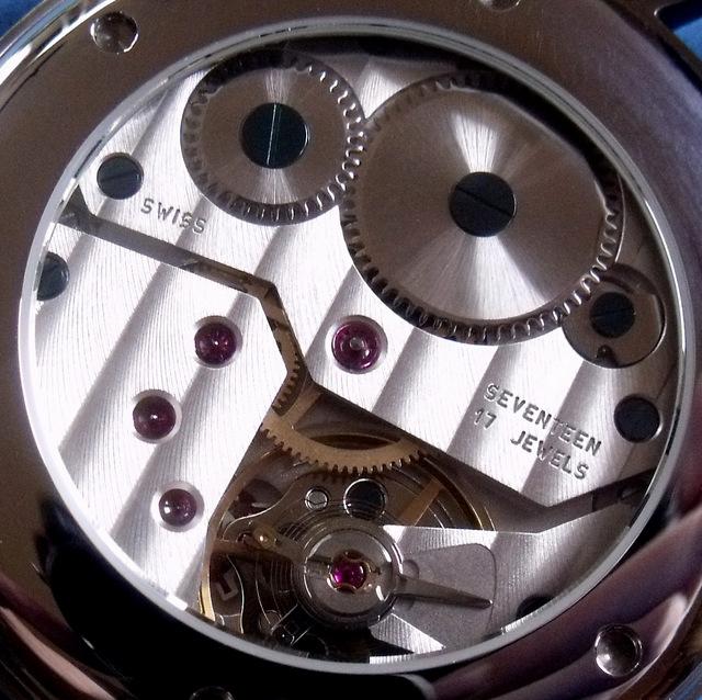 Hamilton RR dial in SK-Watchparts case DSCF4198