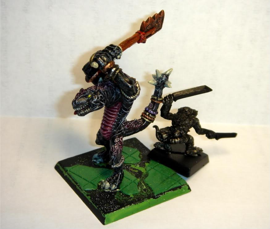 Tecocol's Cohort - Lizardmen Warband DSC02013