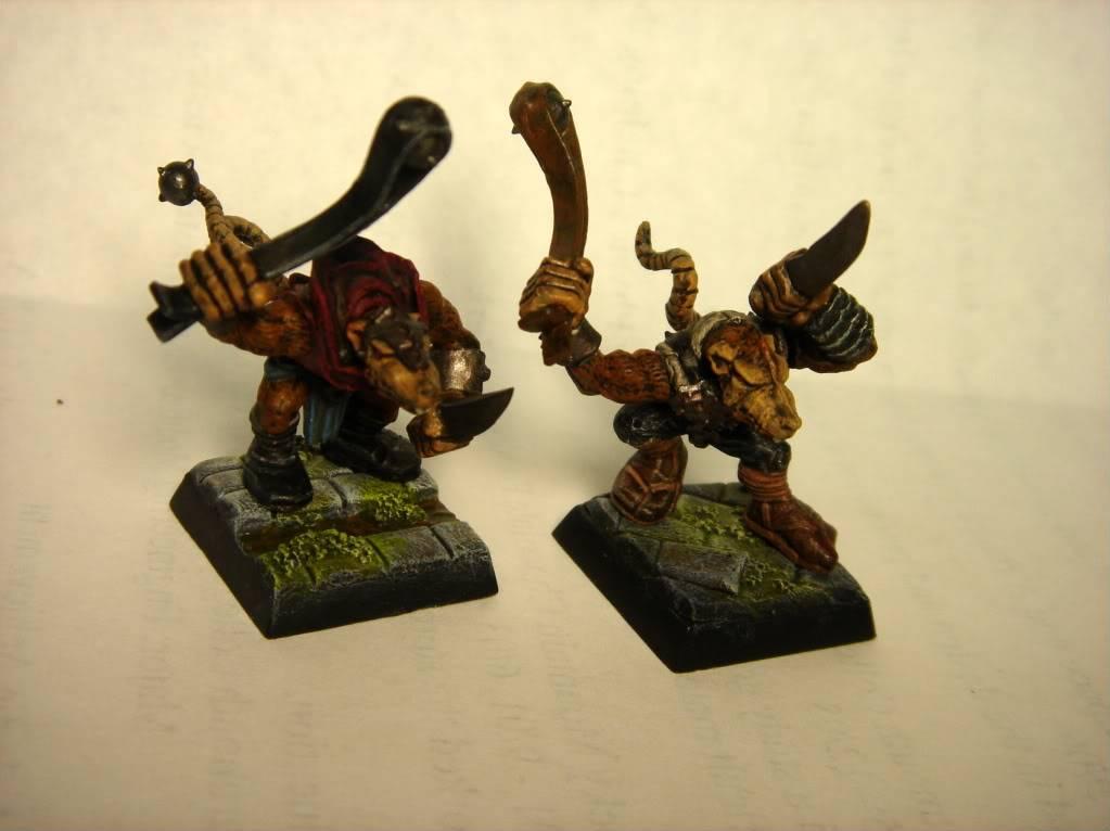 Skitr's Swarm  - Skaven Clan Eshin DSC01971