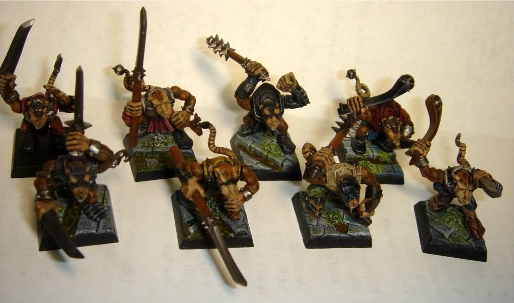 Skitr's Swarm  - Skaven Clan Eshin DSC01992