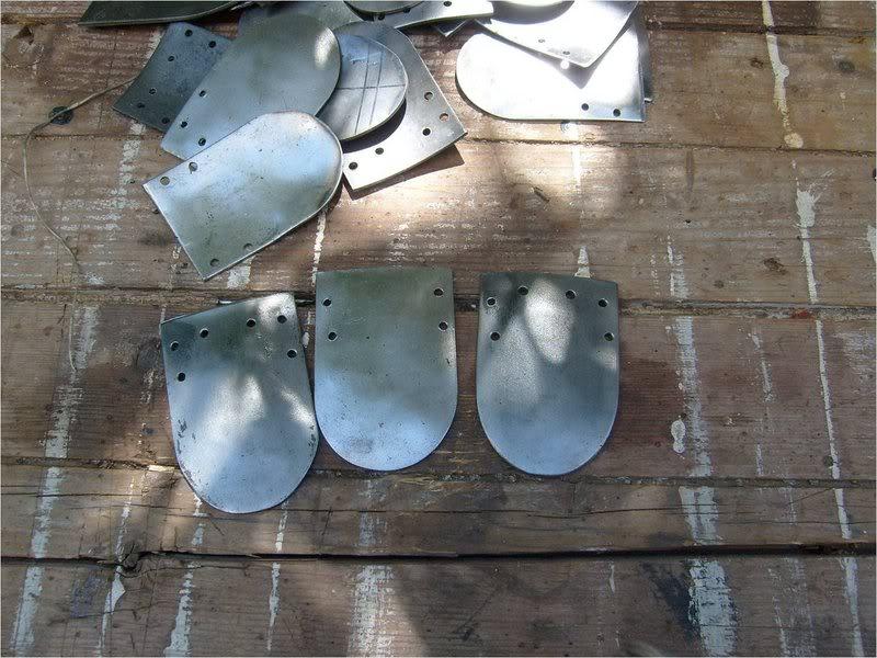 armadura de escamas o placas Escamas