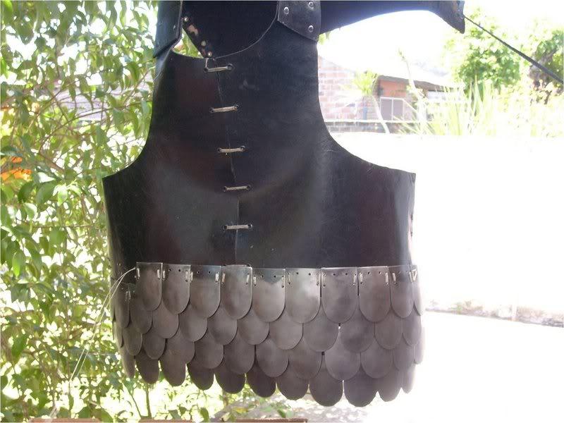 armadura de escamas o placas Brigantinaalmogavar