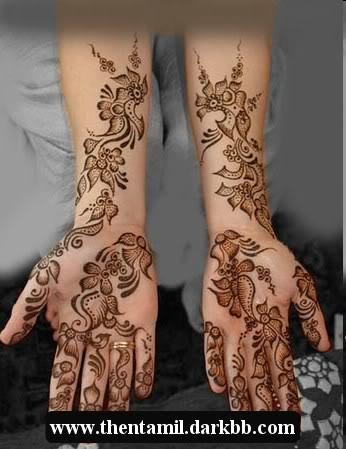 Mehandi Designs (மருதாணி வைக்கபோரீங்கள இந்த மாடல் நல்லா இருக்கா பாருங்க ) -part -2 Mehandidesigns11