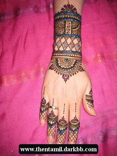 Mehandi Designs (மருதாணி வைக்கபோரீங்கள இந்த மாடல் நல்லா இருக்கா பாருங்க ) -part -2 Mehandidesigns22