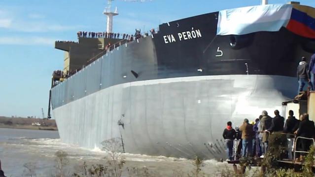 BUQUES MERCANTES CONSTRUIDOS POR LA ARGENTINA Evaperon