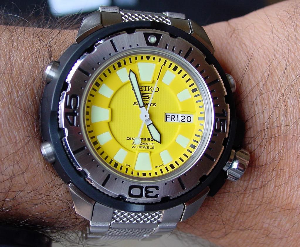 ¿Que reloj llevamos hoy? - Página 7 Seiko5200m