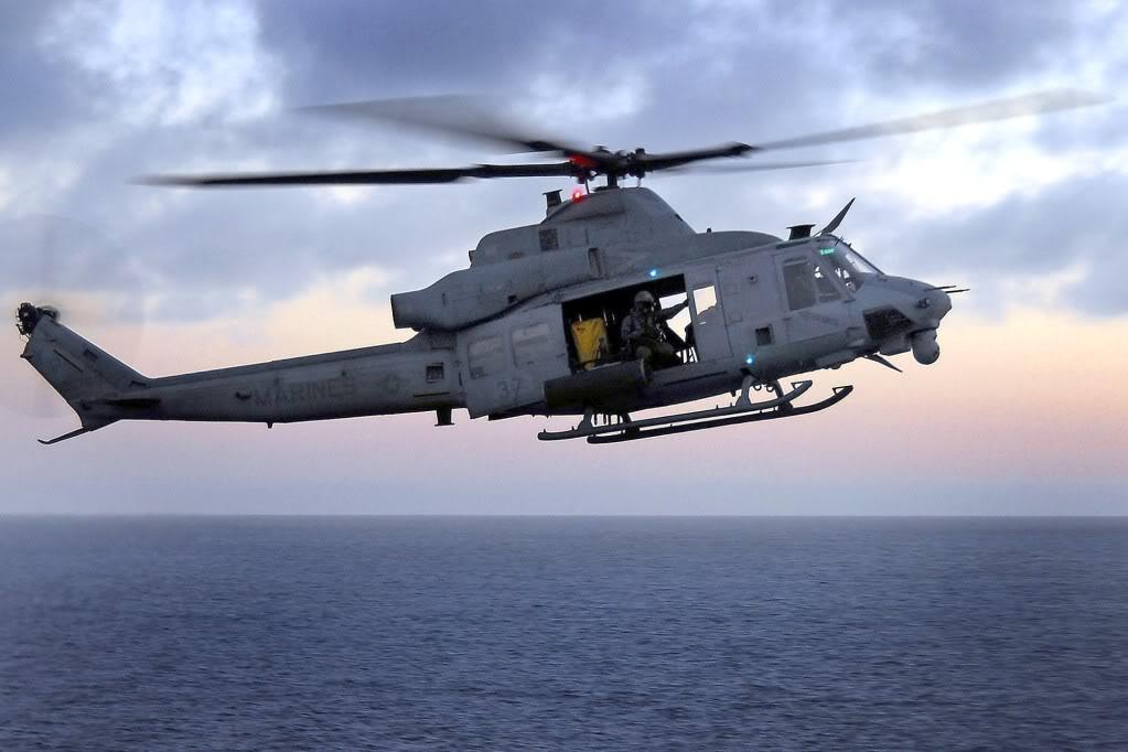 UH-1Y Venom vs. UH-60 Blackhawk Yankee