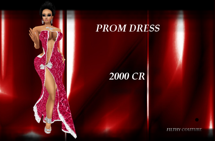 FILTHY COUTURE SHOP {NEW FILES} PROMDRESS