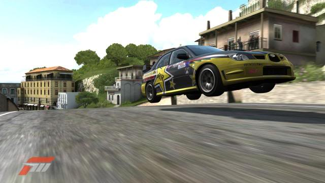 Slider S15 Launches his Impreza over the jumps