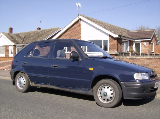 The Skoda Felicia Turbo