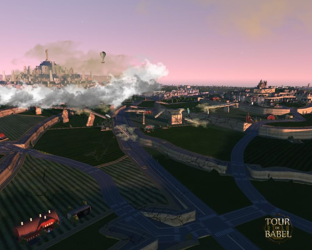 Les villes du passé - Page 2 Babeldebutdecollage