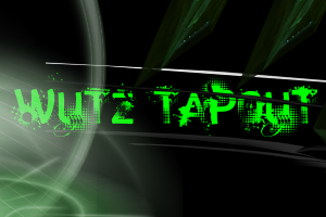 Rate my first Logo out of 5! WuTzTaPouTLogo