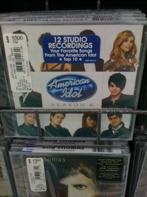 American Idol Season 8 Album CD