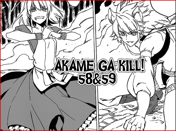 Akame ga Kill! 58 & 59 Agk5859