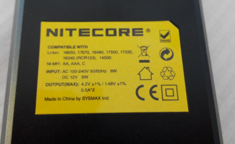 Обзор зарядного Nitecore I2 с Tinydeal 788808019c90a1d076bd1e2afcaf402d