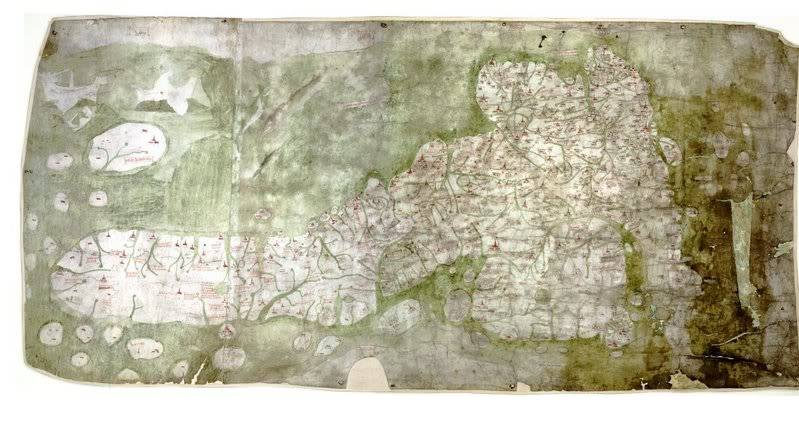 History of cartography GoughMap_ca_1360