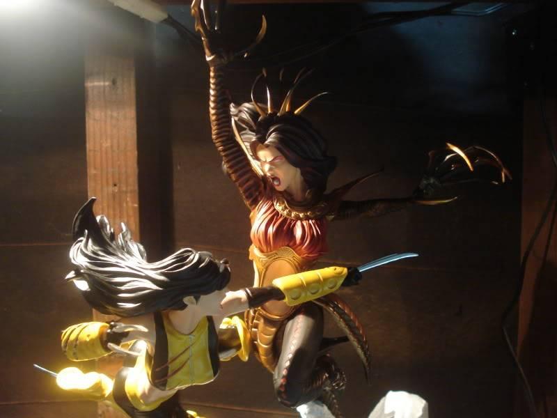 Lançamento: Marvel X-23 Vs Lady Deathstrike diorama - Lançado! - Página 2 DSC07683