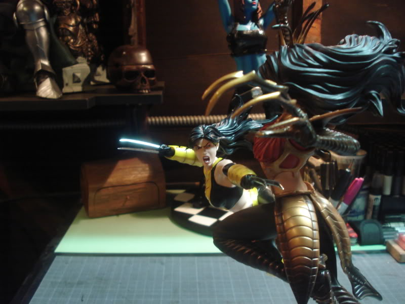 Lançamento: Marvel X-23 Vs Lady Deathstrike diorama - Lançado! - Página 2 DSC07821