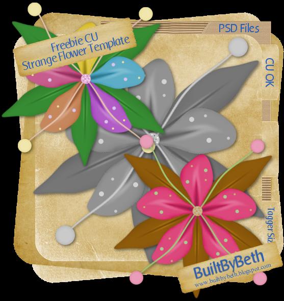 Flower Template Bt_freebie_cu_strangeflower_templat