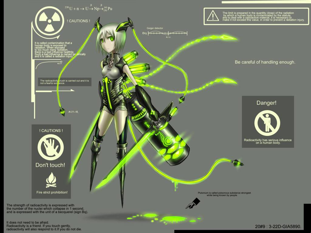 Insangel Weapons Konachancom-65933giagraygreen_eyesoriginalshort_hairswordtwintailsweaponwhite_hair