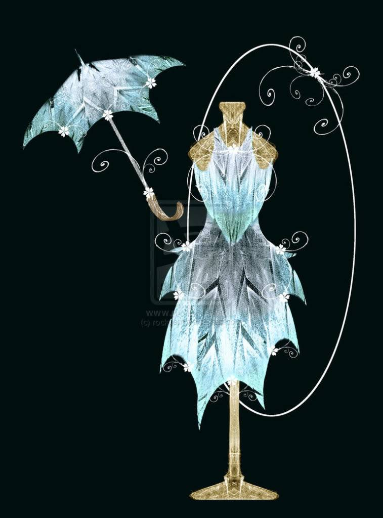 Insangel Weapons Ice_gown___parasol_by_rockgem-d3f5js3