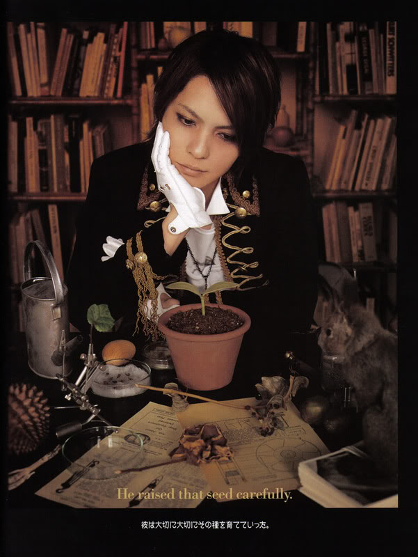 Hyde ~ vocal/guitarist ~ 79