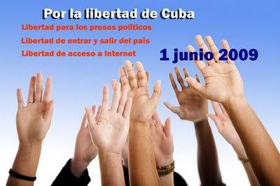 Protesta mundial virtual contra Raúl Castro este 1ero de junio Manos_1-junio
