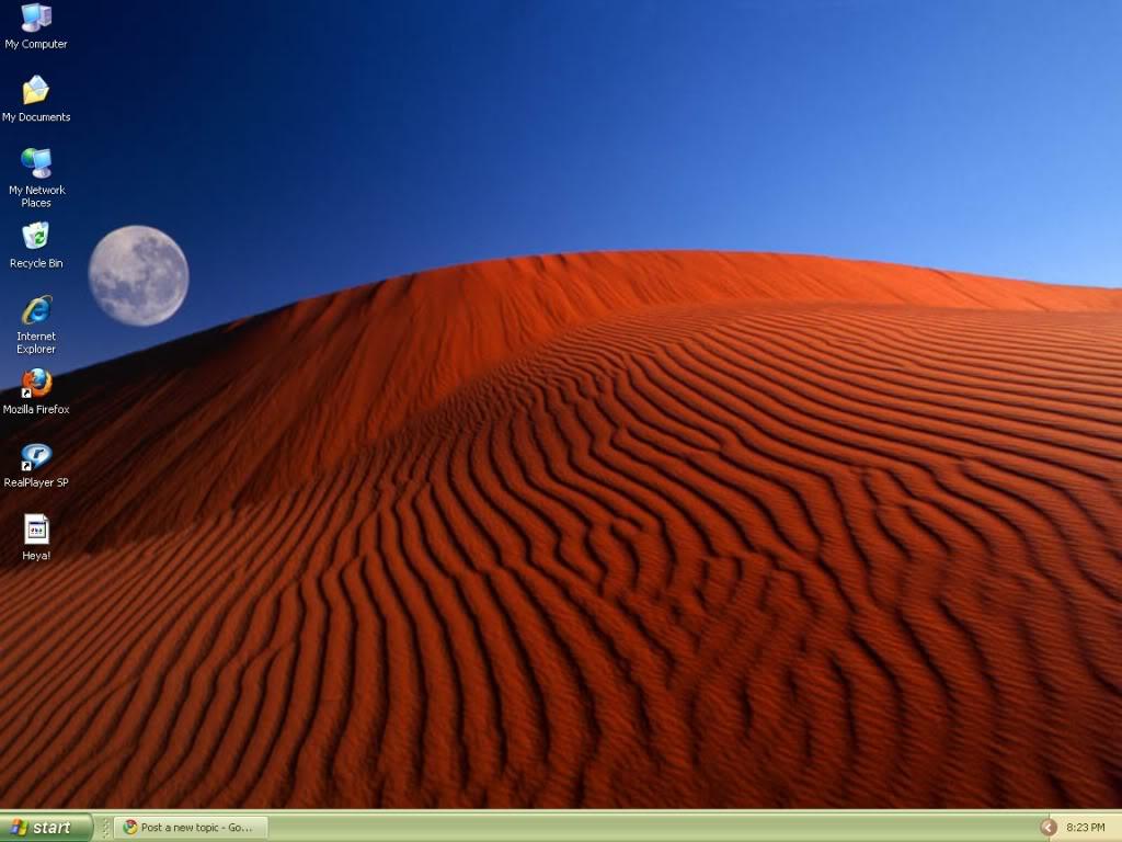 Post Your Desktop Yup