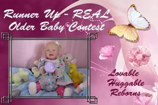 Older Baby Contest  Logos RunnerupOBC