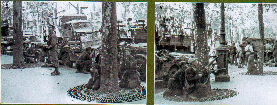 Pm Grease gun lors de la liberation de Paris Paris