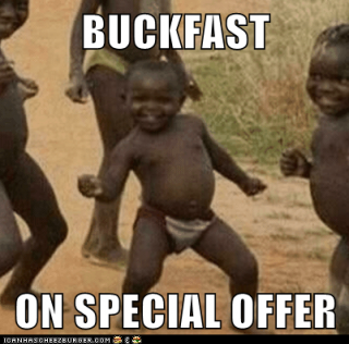 yet another bucky pic ..  Buckfastonoffer