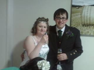 MY DAUGHTER AND HUSBAND ON WEDDING DAY 29/02/2012 Cheers