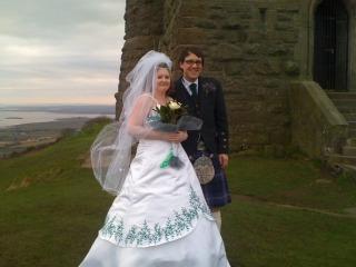 MY DAUGHTER AND HUSBAND ON WEDDING DAY 29/02/2012 Rowanandjessatscrabo
