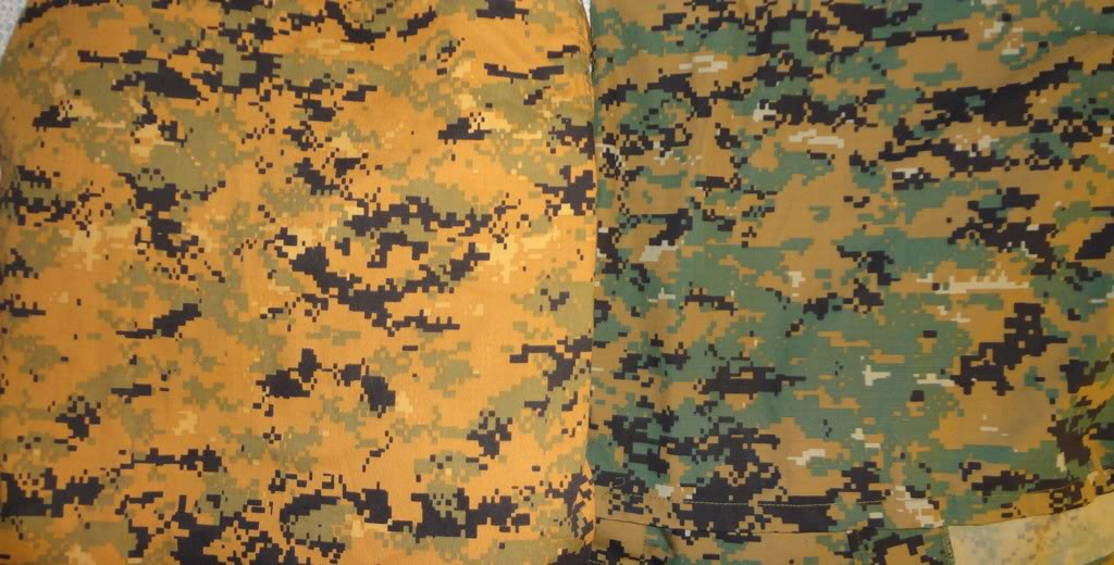 Orange colored MARPAT 1c1af006