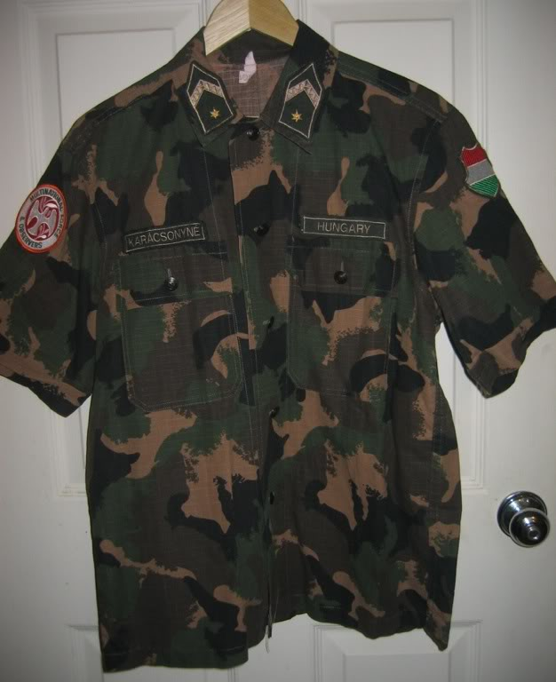 Hungarian Sinai peace keeping shirt 72fa46f8