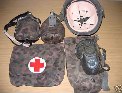 Documenting Austrian Dot Camo Items AustrianMiscFieldEquipment
