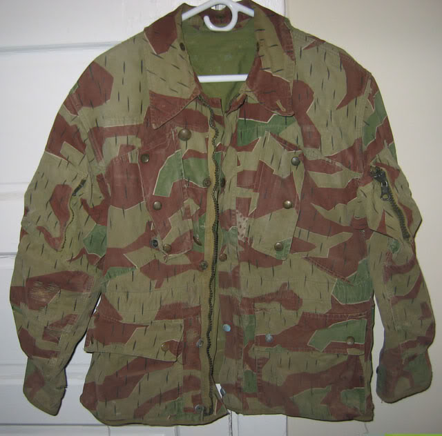 There are at least three types of Fallschirmjäger Splittertarn uniforms BWSplinterJacketFront