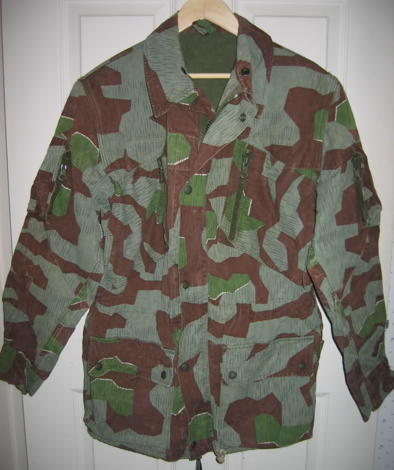 There are at least three types of Fallschirmjäger Splittertarn uniforms IMG_6111