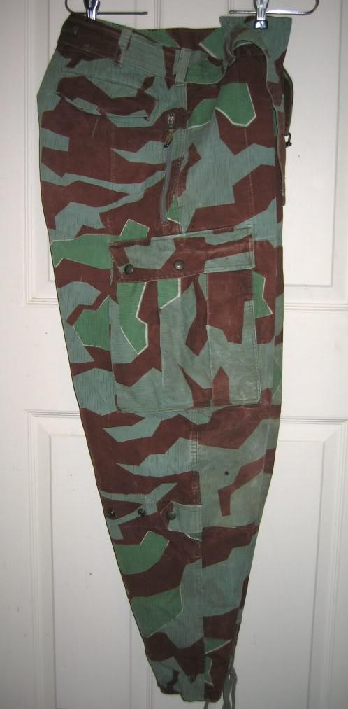 There are at least three types of Fallschirmjäger Splittertarn uniforms IMG_6113
