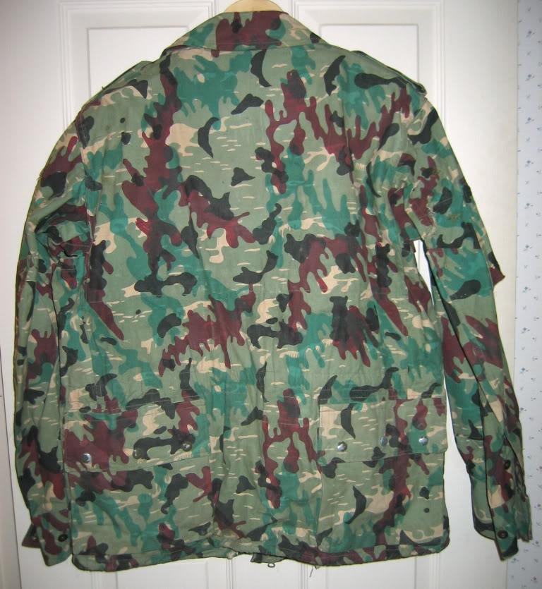 There are at least three types of Fallschirmjäger Splittertarn uniforms IMG_6116