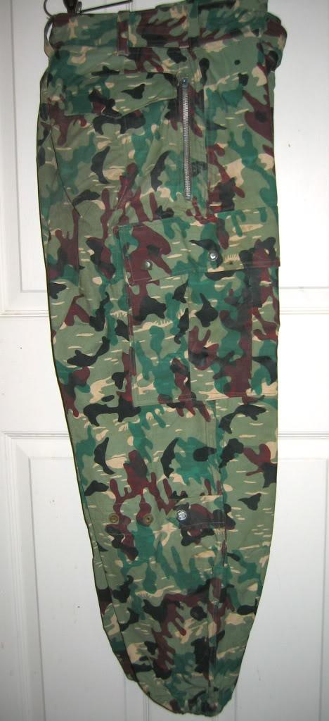 There are at least three types of Fallschirmjäger Splittertarn uniforms IMG_6117