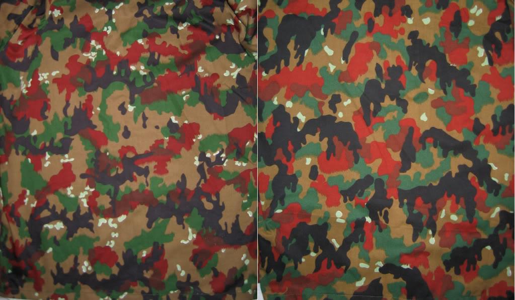 Swiss Leibermuster Camouflage Variations #1 TAZ82SmallandLargeCompare