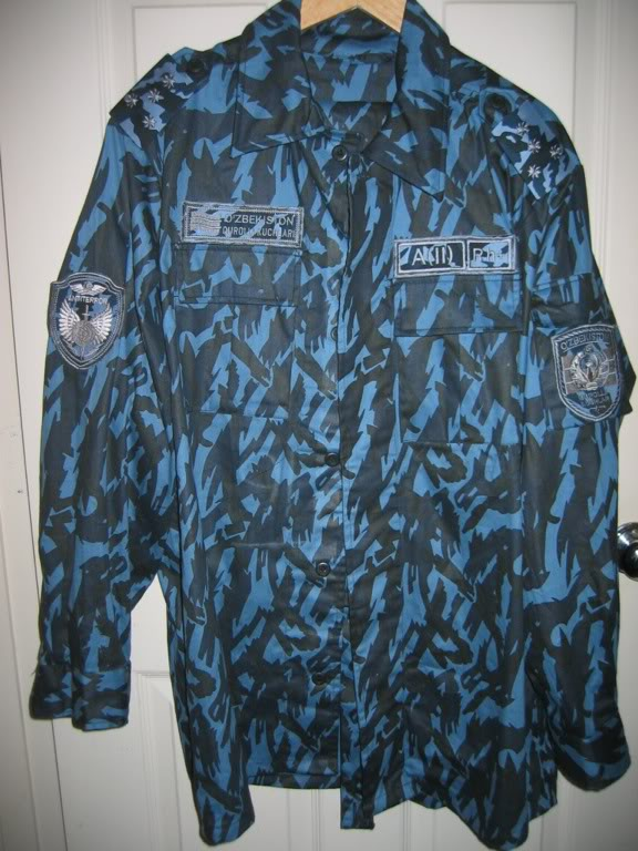 Types of camo uniform for Uzbekistan law enforcements (except the Ministry of defense) B3ec6ebe