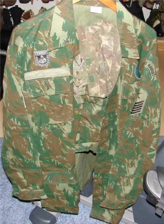Brazilian Marines (Marinha) Camo hat Brazil