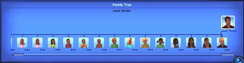 Mi sim tiene mas hijos que cualquier otro en la historia del juego! Tree1