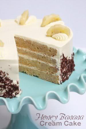 Honey Banana Cream Cake 20110803032647-2b07f367
