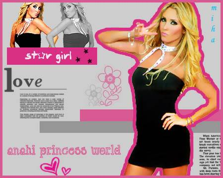 Anahi Princess World