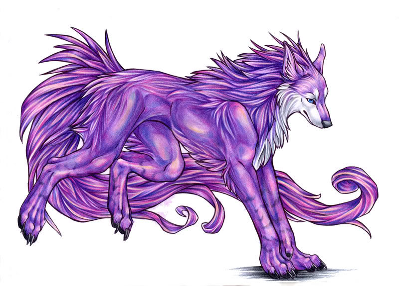 Adelaide Tyrian Seiwolfform
